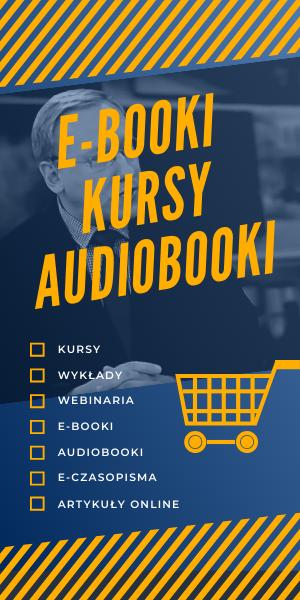 E-booki, kursy, audiobooki