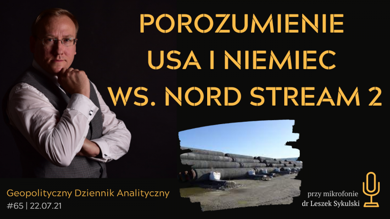 Porozumienie USA-Niemcy ws. Nord Stream 2