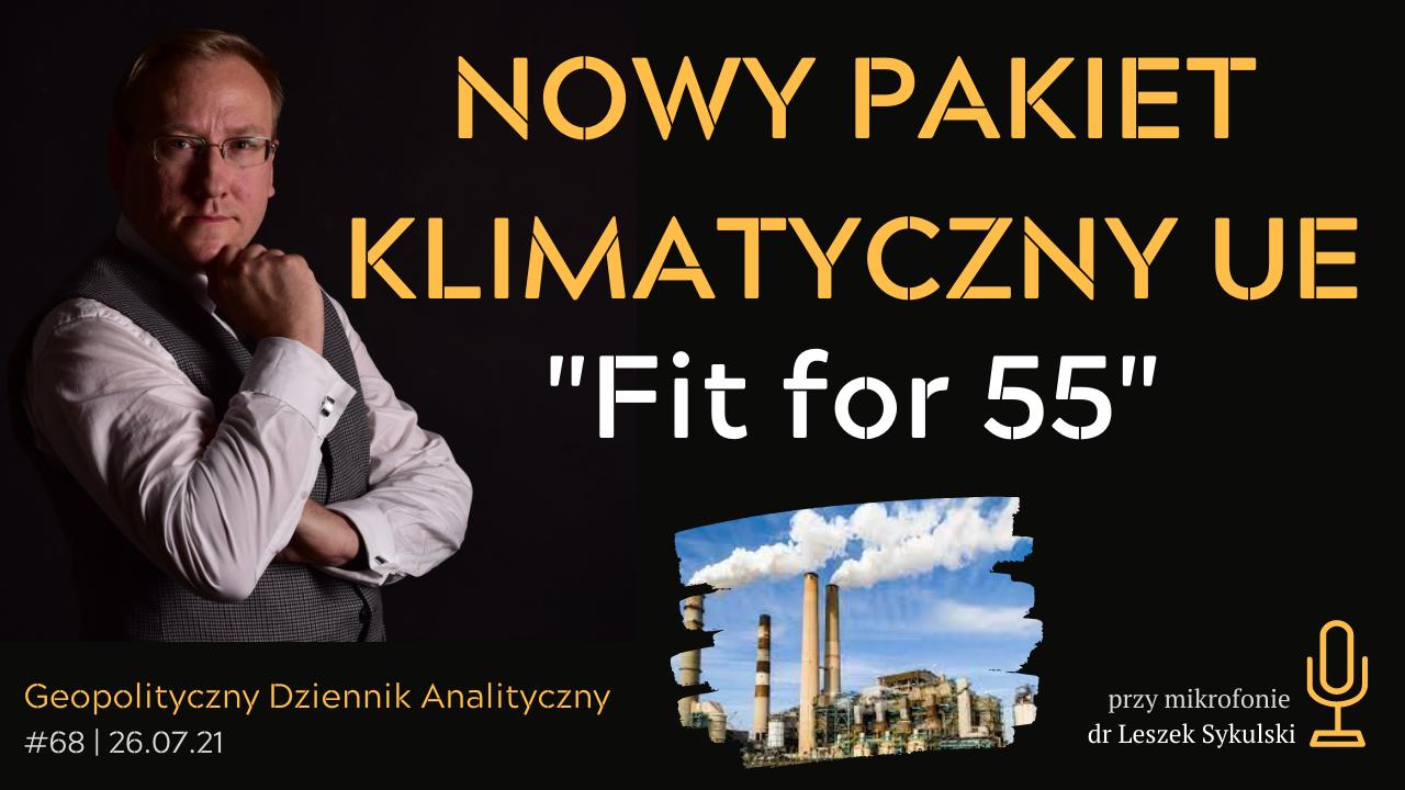 """Nowy pakiet klimatyczny UE – """"Fit for 55"""""""