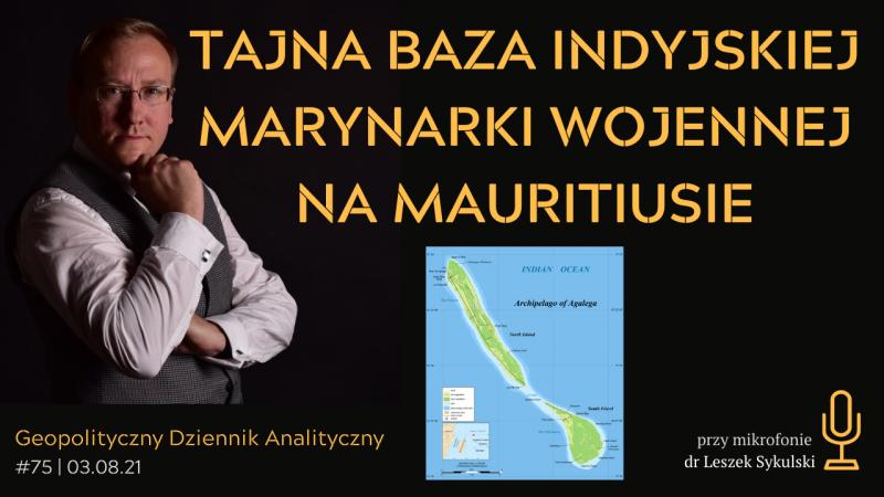 Tajna baza indyjskiej marynarki wojennej na Mauritiusie
